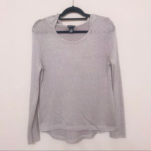 Wet seal Long Sleeve Hoodie blouse